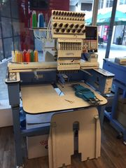 Stickmaschine Happy HCA 1201 Komplett