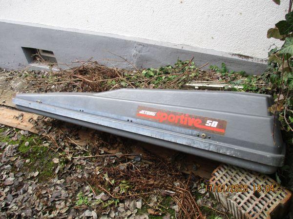 Verkaufe eine abschließbare Dachbox Skibox