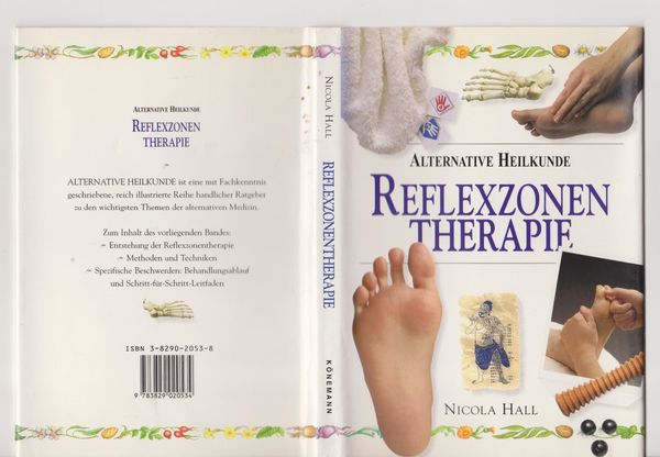 Buch Reflexzonen Therapie - Alternative Heilkunde -