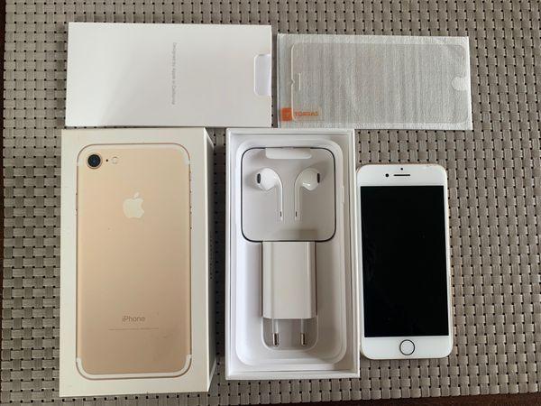 iPhone 7 (Gold) 32 GB mit Zubehör