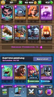 Clash Royal Account lvl 13