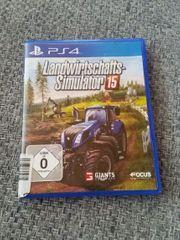 PS4 Spiel- Landwirtschaftsimulator 15- neuwertig