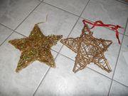 Weihnachts- Adventsdekoration 25-teilig Kugeln Sterne