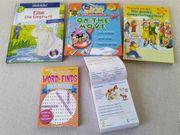 3 Englisch-Lernbücher mit CDs ab