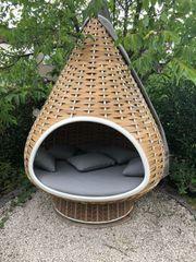 Dedon Nestrest Stehsessel Outdoor Natural