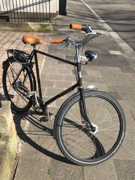 Herren-Fahrräder - Neuwertiges Weltrad City Bike
