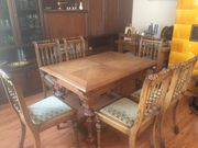 Esszimmer-Tisch mit Stühle