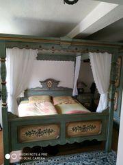 Voglauer Anno 1700 Altblau Schlafzimmer