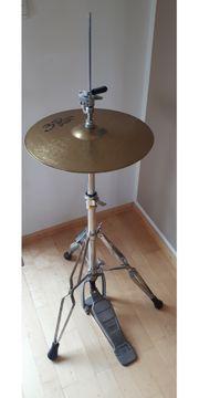 Schlagzeug Hi Hat inkl Ständer