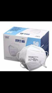 FFP2 Masken 50 Stück Mundschutz