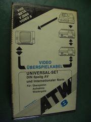 ATW 8 Video Überspielkabel Universal-