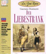 CD Book Der Liebestrank - Gaetano Donizetti