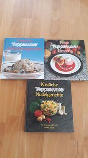 3 Tupperware Kochbücher im Set