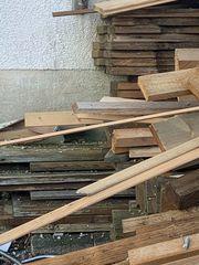 Holzlatten zu verkaufen
