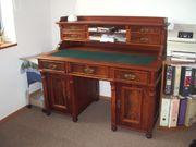 Schreibtisch Antik Gründerzeit mit Aufsatz