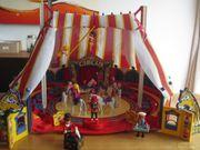 Playmobilzirkus mit diversen Zirkusnummern
