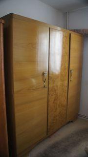 Kleiderschrank Toilettentisch Handanfertigung Holz 50er