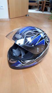 Motorradhelm ROCC Fiberglass Grösse M