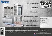 Gastronomie Ausstellung ATOSA Kühlgeräte B-WARE