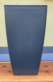 Pflanzkübel 35x35x65 cm mit Bewässerungssystem