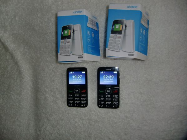 2 Handys ALCATEL TFT Display