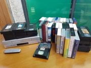 Videorekorde mit diversen Videofilme
