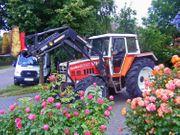 Schlepper Traktor Steyr 8080 mit
