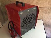 Elektroheizer Heizlüfter 9 kW mieten