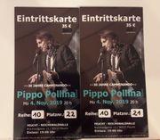 2 Eintrittskarten Pippo Pollina in
