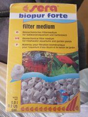 Sera biopur forte Filtermedium Aquarium