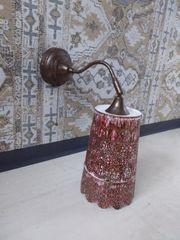 Shabby chic Lampe Wandlampe