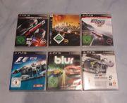PS3 Spieleset 6 Stück
