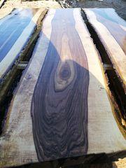Nussbaum Birnbaum Holz Stamm Bohlen