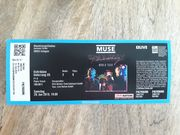 Konzertkarte Concert Ticket MUSE in