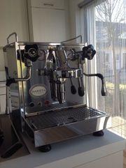 ECM Barista Edelstahl Espressomaschine
