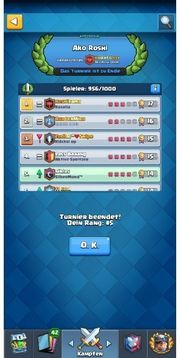 top Clash royale Trophäen push