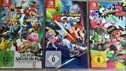 9 Nintendo Switch Spiele Neuwertiger