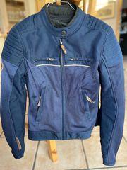 Ixon Motorrad Textiljacke marineblau