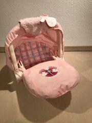 Puppensafe Puppenschale rosa