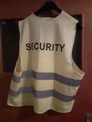 2X Reflektierende Security Warnwesten