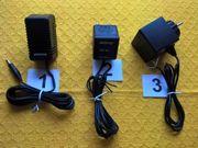 STECKER-NETZTEILE als Stromversorgung Ladegerät oder