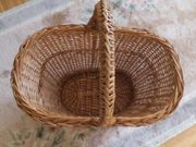 Weidenkorb - Einkaufskorb - gebraucht
