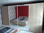 Schlafzimmer NOLTE mit Kleiderschrank Bett