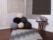 Teppich beige 140 x 200