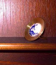 Messing-Miniatur Zierteller