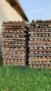 Brennholz Kiefer Fichte gemischt zu