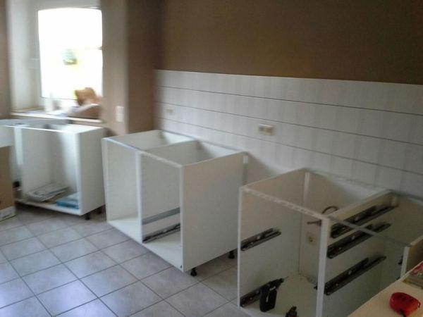 Küchenaufbau und Möbelmontagen