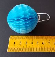 Wabenbälle blau weiß