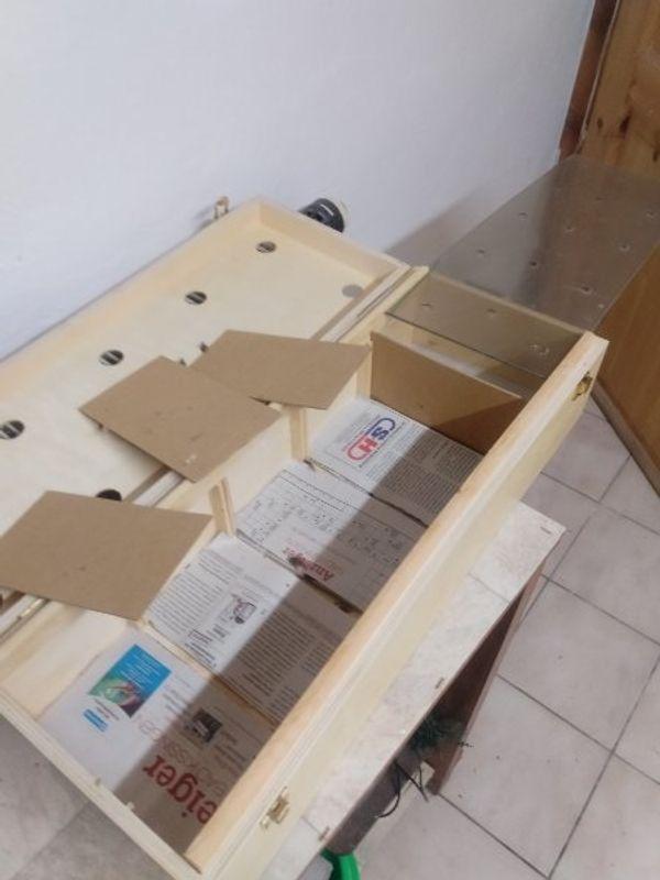 Vogel Transportbox. Kiste