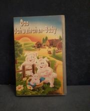 VHS Kassette Das Schweinchen baby